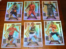 6 match attax man of the match 13/14 . ALUKO 384 , ENRIQUE 385 , GUZAN 364, VORM
