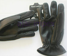 Horse Riding Real Leather Gloves  100% Cowhide Genuine Leather//
