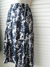 NEW WOMANS LADIES SMART  CALF LENGTH SKIRT SMALL TO PLUS SIZES ELASTICATED WAIST