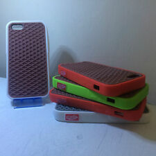 Vans Off The Wall Cover For Apple 5 / 5s Vans Shockproof Case Gray Waffle Design
