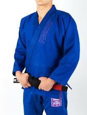 NEW! Manto BJJ Gi Clasico Limited Edition Blue Purple Brazilian Jiu Jitsu Kimono