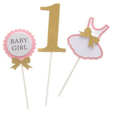 Bling BABY BOY or BABY GIRL Cake Topper 1st Birthday Cake Décor Centerpieces