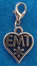 EMT Charm EMT Jewelry Charm Ambulance Charm Paramedic Charm Gift for EMT Dangle