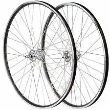 Bicycle Wheelset Single Speed Fixie Track Bike Wheels Pair Front Rear Alloy 36H