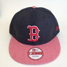 Boston Red Sox New Era Heather Action 9Fifty Snapback Hat Adjustable