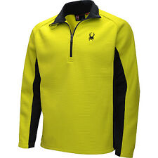New SPYDER Outbound 1/2-Zip Midweight Core Sweater Mens Sz S or XL