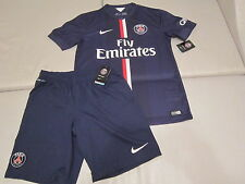 NWT XL Nike PSG Jersey Shorts Paris 2014-15 France home Ibrahimovic 618757-411