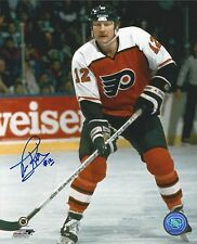 Philadelphia Flyers Tim Kerr Autographed Signed 8x10 Photo JSA PSA