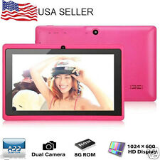 """7"""" A33 Android 4.4 Quad Core HD Tablet 8GB Dual Camera Bluetooth PC WiFi Laptop"""