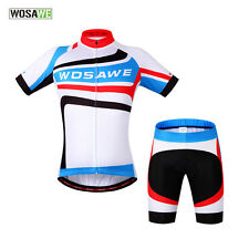 Mens Bike/Bicycle Padded Wear Outdoor Jersey &Pants Cycling Jersey/ Shorts S-2XL