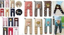 Baby Toddler Infant Boy Girl Unisex Leggings Trousers Pants Tights 6-36 months