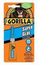 GORILLA SUPER GLUE  3g Strong Strength Super Glue Wood Metal Ceramic Plastics