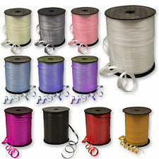 500 Yds Balloon Colour Curling Ribbon Helium Wedding Birthday Gift Craft Party =