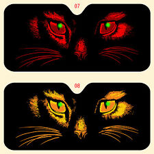CC car window sun shade, truck-suv  cat eyes in various colors more in store