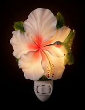 "Ibis & Orchid ""Hummingbird on Hibiscus"" Night Light"