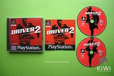 Driver 2 Sony Playstation 1 PS1 PAL Game + Works On PS2 & PS3