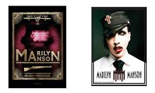 MARILYN MANSON - TAROT CARD / UNIFORM LOGO - OFFICIAL TEXTILE POSTER FLAG