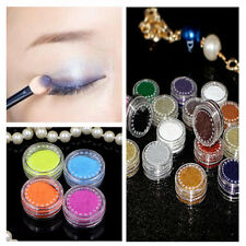 2g/Box Fine Dust Glitter Nail Art Face Body Eye Shadow Craft Paint 14 Colors Set