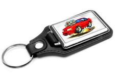 1987-93 Ford Mustang GT Muscle Car-toon Key Chain Ring Fob NEW