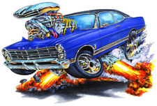 1967 Ford Galaxie 500 Muscle Car Art Print NEW