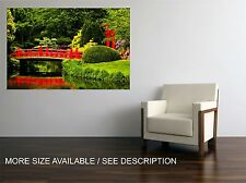 Canvas Print Picture Japanese Garden / Stretched -ready to hang