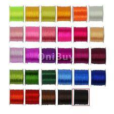 0.5 mm 50 yards Craft Polyester Cord String Cord Roll Crystal Bead Jewelry DIY
