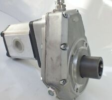 HYDRAULIC 20kw PTO GEARBOX COMPLETE WITH GROUP 3 PUMP Gear Pump UP TO 80LPM