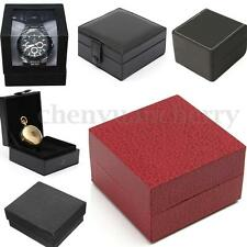 Durable Hard Watch Box Present Gift Box Bracelet Bangle Case Holder Case Jewelry