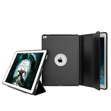 Flip Folio Rugged Hybrid Shockproof Stand Wake Smart Case Cover For iPad Air 2