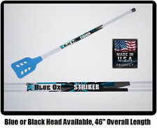 NEW Blue Ox Striker Senior Broomball Stick / Broom (Blue or Black Head)