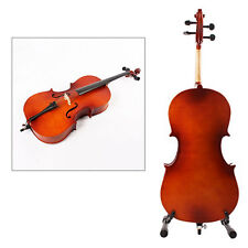 Best Cello 4/4 Size full Cello Top Finish Basswood Finished Bow Rosin/Hard Case