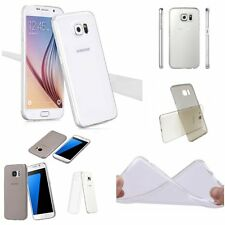 0.2mm ULTRA THIN CLEAR Rubber TPU Soft Cover Case Skin For Samsung Galaxy Phones