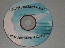 Brother/Baby Lock/Deco/White PES Embroidery Designs -  22,000 on DVD/3CDs/USB