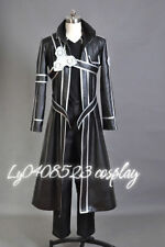 Sword Art Online Kirito Anime Cosplay Costume-Only (coat and chest armor)