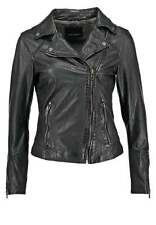 Women's Leather Jacket Slim Fit Genuine Lambskin Biker Motorcycle Jacket  WJ204