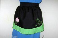 1/2 PERSONALISED CUPCAKE APRON Made to order in your color combination & cupcake