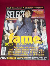 SELECT - FAME - April 1999 - Shirley Manson - Kiss -