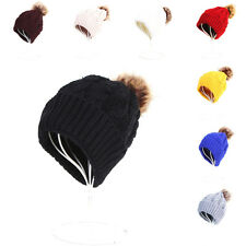 NEW Women Ladies Knitted Crochet Winter Oversized Slouch Beanie Hat Warm Cap 255