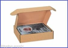 50 Pack - Tab Lock Kraft Literature Mailer Shipping Boxes - 25 Sizes Available