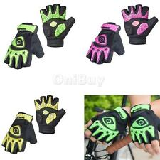 Specialized Fingerless Cycling Motorcycle Bicycle Gloves Half Finger Gel Palm