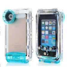 For iPhone 6s/6 plus Underwater Waterproof 40m Diving Photo Housing Shell Case