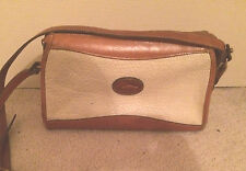 Vintage DOONEY and BOURKE All Weather Leather Made-In-USA Shoulder Bag Purse