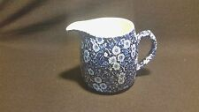 Staffordshire CALICO BLUE (BURLEIGH) - Creamer/Pitcher