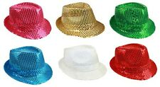 Fedora Trilby Hats - Women Hats -  Sequined Hats Party Hats  (FedHat67 ^)