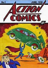 Action Comics #1 June 1938 First Appearance Of Superman Replica POSTER