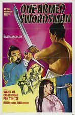 One-Armed Swordsman 1967 Drama/Action Movie POSTER Shaw Brothers