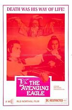 The Avenging Eagle 1978 Action/Martial Arts Movie POSTER Shaw Brothers