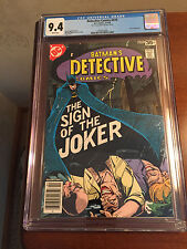 Batman #476 - Joker Appearance - CGC 9.4 - Key- Movie!