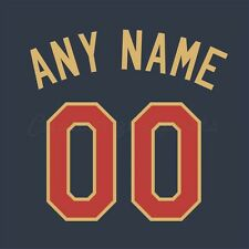 Baseball 2014 All Star American League Jersey Customized Number Kit un-sewn