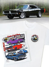 Dodge Scat Pack Blvd. T-Shirt - Mopar Challenger R/T Charger Super Bee Daytona